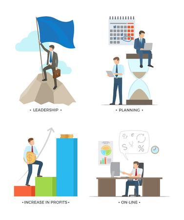 Leadership and Planning illustration. Illustration