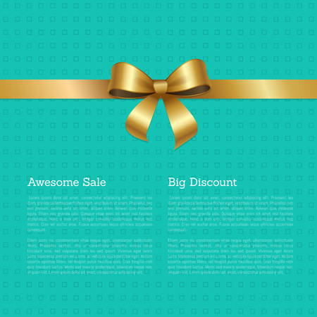 Awesome Sale Big Discount Certificate Card Design
