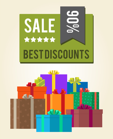 Best Discounts Sale 90 Green Square Label Sticker