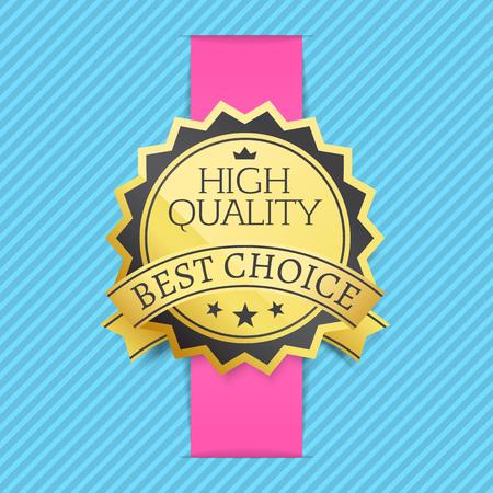 High Quality Best Choice Stamp Golden Label Reward