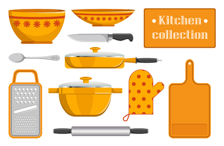 Kitchen Collection Sketches of Kitchen Appliance Stock fotó - 101087323