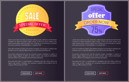 Best Product Hot Exclusive Price Web Poster Vector