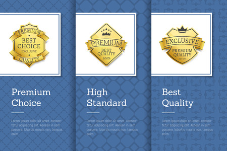 High Standard Premium Choice Best Quality Emblem