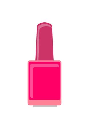 Nails Service Polish Gel, Vector Illustration