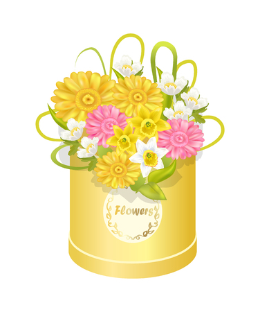 Spring Delicious Flower Colorful Anemones Box