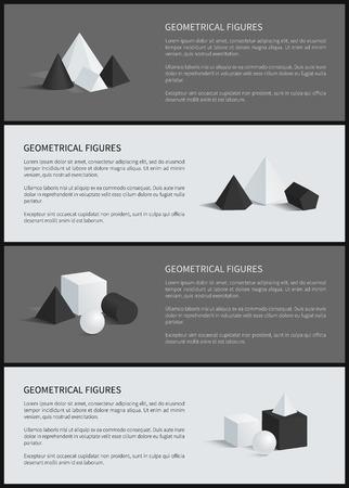 Geometrical Figures Collection Vector Illustration Illustration