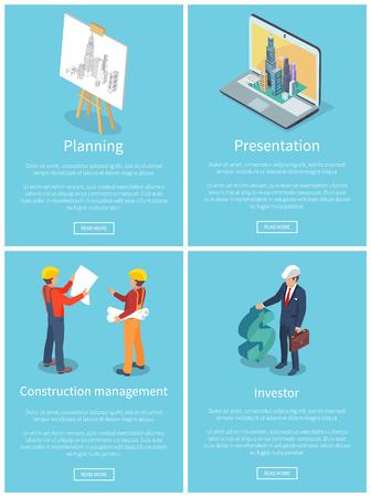Planning Collection of Web Vector Illustration Illustration