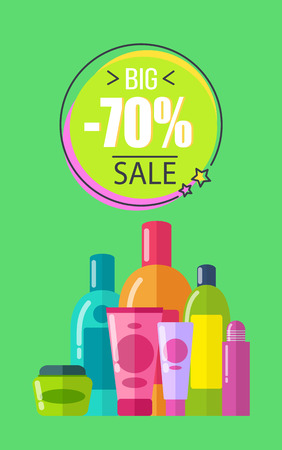 Big Sale for Soft Lotions and Creams Promo Poster
