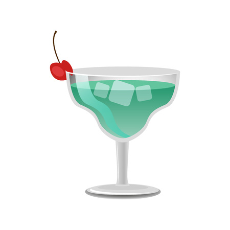 Sketch of Margarita Cocktail Vector Illustration  イラスト・ベクター素材