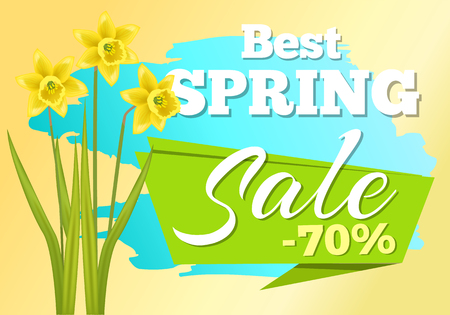 Sale 70 Off Sticker Daffodil Narcissus Bulbous Illusztráció