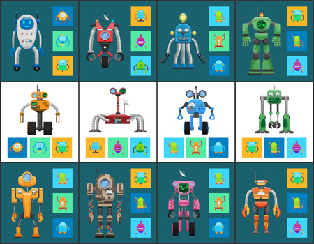 Modern Humanoid Robots with Multifunctional System