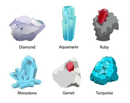 Diamond Ruby Malachite Agate Sapphire Carnelian