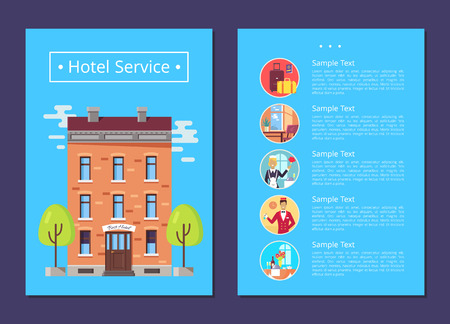 Hotel Service Detailed Informative Internet Page
