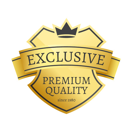 Exclusive Premium Quality Since 1980 Golden Label