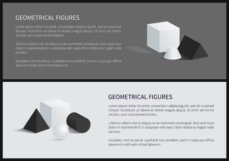 Geometrical Figures Poster Vector Illustration Zdjęcie Seryjne - 102261098