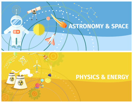 Astronomy and Space, Physics and Energy Poster 版權商用圖片 - 102393687