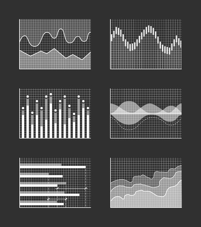 Charts with Business Information, Colorless Set