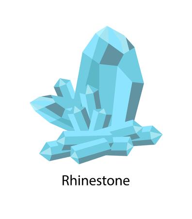 Rhinestone Paste or Diamante is Damond Simulant