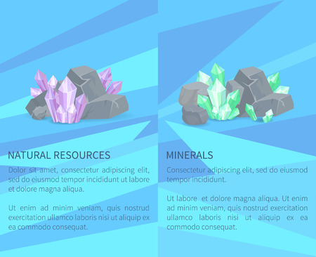 Natural Resources Minerals Among Rocks and Stones