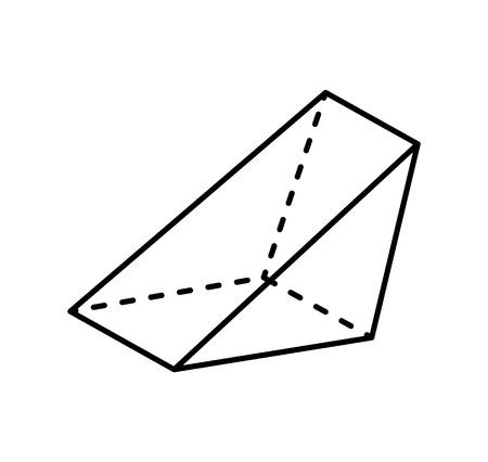 Triangular Prism Geometric Figure Gometry Shape