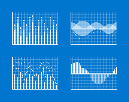 Angular Curves, Tall Bars Waves Apexes Isolated