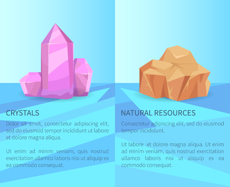 Crystals and Natural Resources Realistic Minerals