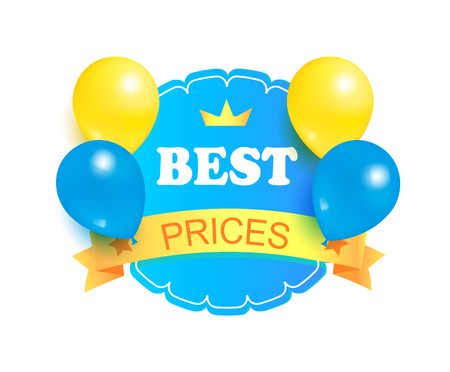 Best Prices Round Stamp Decorated Balloons Label