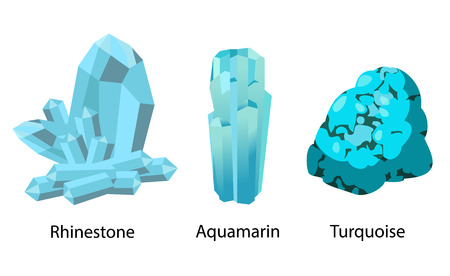 Strass Aquamarijn Turkoois kostbaar kostbaar