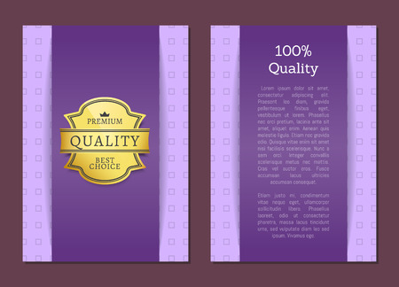 Quality Premium Best Choice Poster Vector Label Çizim