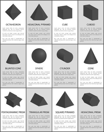 Hexagonal and Pentagonal Pentagrammic Black Prisms