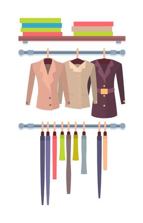 Shop Window Store for Women Modern Coats Jackets