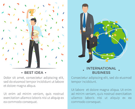 Best Idea, International on Vector Illustration