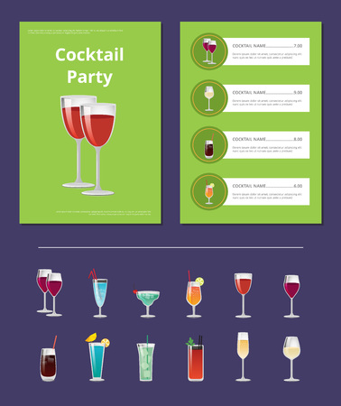Cocktail Party Menu List Cocktail Price Ingredient