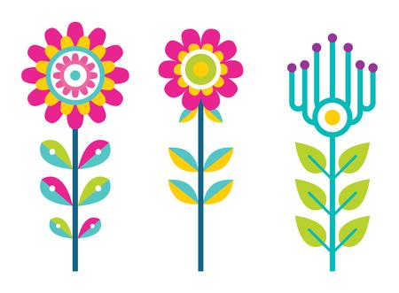 Bright Field Flowers Composed of Bright Details Reklamní fotografie - 104716440