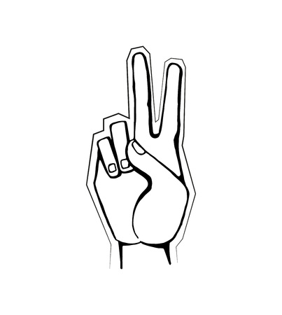 Hand Gesture Showing Symbol of Good Intentions