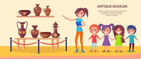 Antique Museum Excursion with School Children