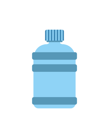 Gallon of Water in Bottle  Illustration