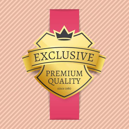 Exclusive Premium Quality Since 1980 Golden Label