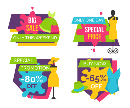 Big Sale Only this Weekend Special Price Labels