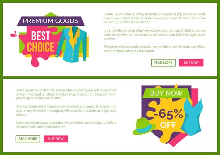 Premium Goods Best Choice Buy Now 65 Off Set Illustration