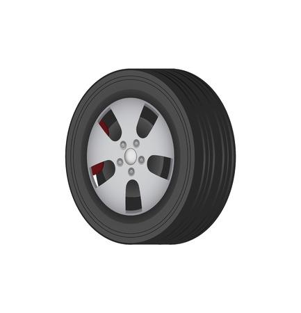 Autoband van solide beste kwaliteit rubber voor de winter
