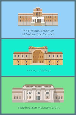 Set Musei Nazionali della Natura e della Scienza del Vaticano