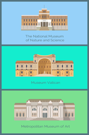 Set National Museums of Nature and Science Vatican