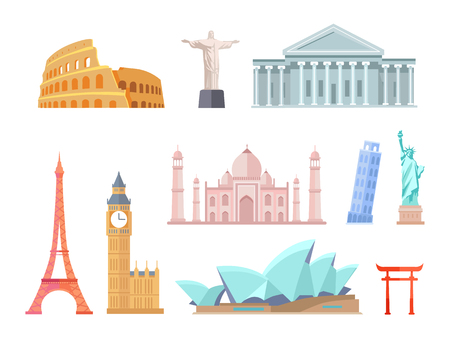 Buildings and Momuments from World Attractions