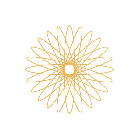 Simbolo del certificato d'oro per documenti speciali