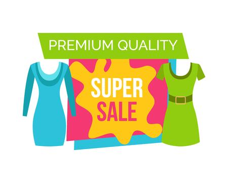 Super Sale for female Clothes of Premium Quality Illustration