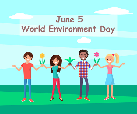 June 5 World Environment Day Connecting People