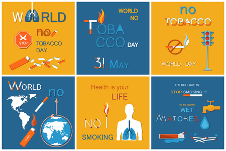 No Tobacco World Day Health is Life Stop Smoking