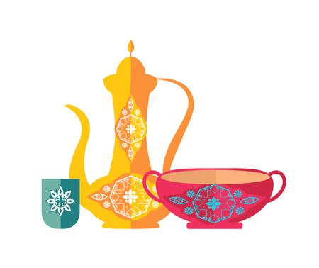 Islamic Dishware Decorative Pitcher Vintage Style