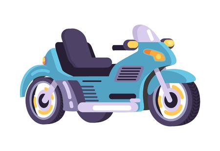 Motorfietsen Set Stijlvolle Motor Transport Item Vector
